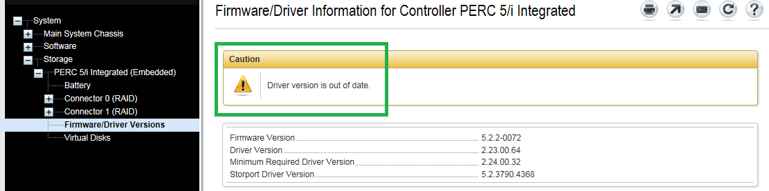 Dell PowerEdge OpenManage Firmware Notice - Thomas Chester's