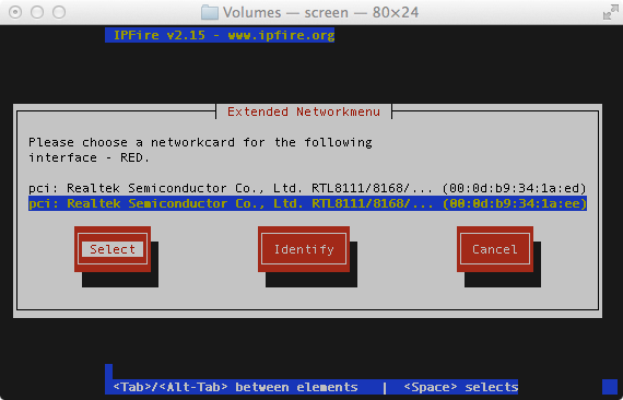 Installing an IPFire Based Firewall - Thomas Chester's Blog