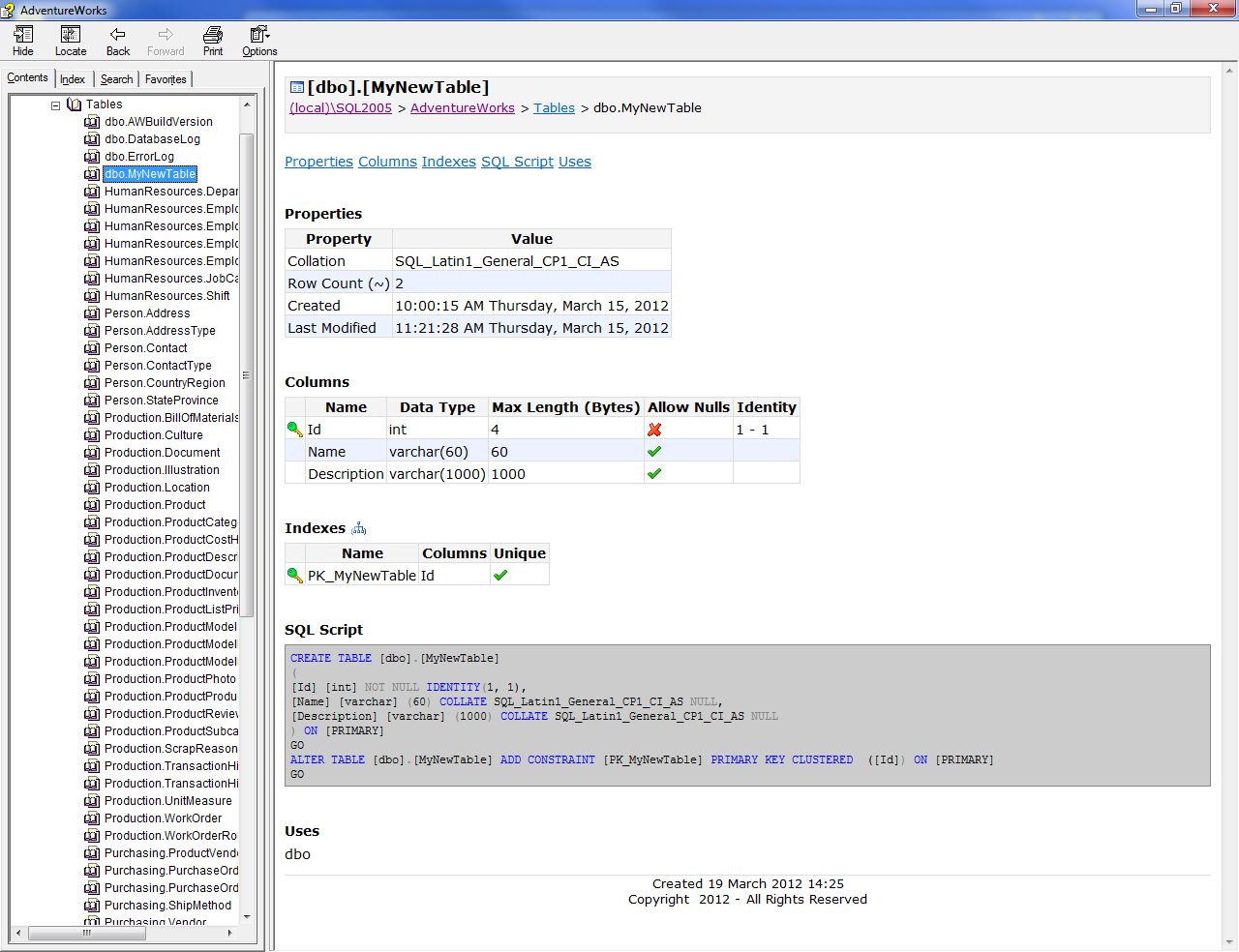 how to source control your sql server databases thomas chester the image below shows a sample from the chm file format